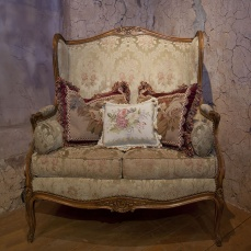 French Settee- antique